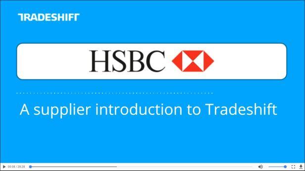 HSBC TradeShift Supply Chain Finance
